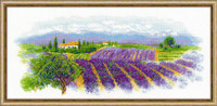 Blooming Provence Cross Stitch Kit By Riolis