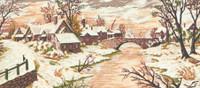 Snow Scene Canvas By Grafitec