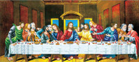 The Last Supper No Count Cross Stitch Kit By Riolis