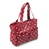 PVC - Red Spot  Craft Bag By Hobby Gift