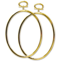 """Janlynn Just A Frame - Oval 3.25""""X4.25"""" 2 pack"""
