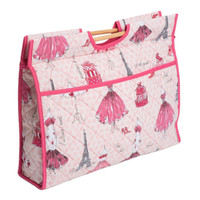 Classic Collection: Craft Bag with Wooden Handles: Fashion Week