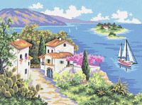 A Summer's Day  Tapestry Canvas By Collection D'art