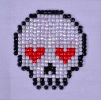 Sugar Skull Craft Kit By Diamond Dotz