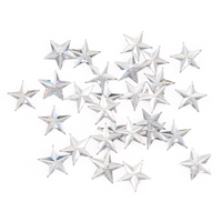 Gems: Star: Silver: Pack of 70 By Trimits