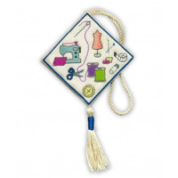 Sewing Scissor Keep Cross Stitch kit By Textile Heritage