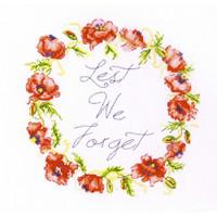 Lest we Forget Cross Stitch Kit by Betty Davies