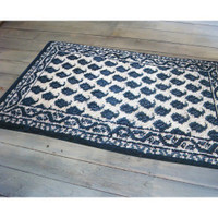 Latch Hook Rug Kit - Blue Ink