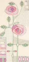 Mackintosh – Morning Rose Cross Stitch Kit By Derwentwater