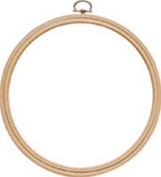 Beech Wooden Hanging Frame Size 5 inch