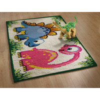 Latch Hook Rug Kit - Dinosaur