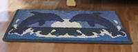 Latch Hook Rug Kit - Dolphins