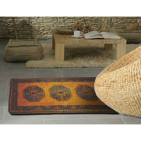 Latch Hook Rug Kit - Gold Afghan