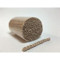 Pre Cut Rug Wool - Beige Rose