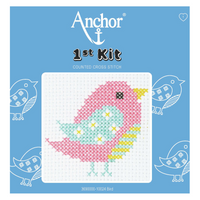 Bird Beginner 1st Cross Stitch Kit By Anchor