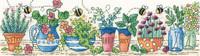 Herb Garden Cross Stitch Kit by Heritage Crafts