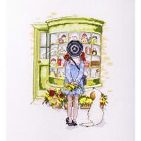 The Old Sweet Shop Cross Stitch Kit Betty Davis