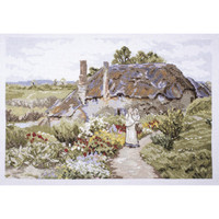 Meadow View Cross Stitch Kit by Rural England