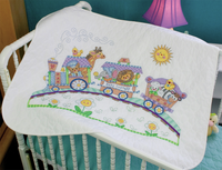 Stamped Cross Stitch: Quilt: Baby Express By Dimensions