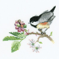 Chick Berry Cross Stitch Kit By Heritage