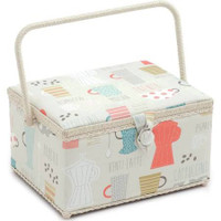 Americano  Large Sewing Box By Hobby Gift