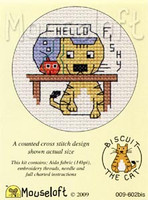 Hello Fishy Cross Stitch Kit by Mouse Loft