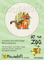 Tiger Cross Stitch Kit by Mouse Loft