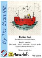 Fishing Boat Cross Stitch Kit by Mouse Loft