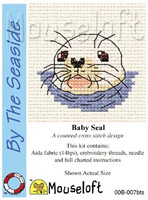 Baby Seal Cross Stitch Kit by Mouse Loft