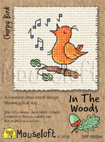 Chirpy Bird Cross Stitch Kit by Mouse Loft