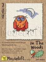 Old Ollie Owl Cross Stitch Kit by Mouse Loft
