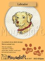 Labrador Cross Stitch Kit by Mouse Loft