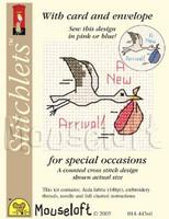 Stork Cross Stitch Kit by Mouse Loft