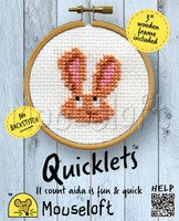 Bunny Cross Stitch Kit by Mouse Loft
