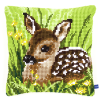 Little Deer Chunky Cross Stitch Kit By Vervaco