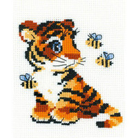 Stripies Cross Stitch Kit by Riolis