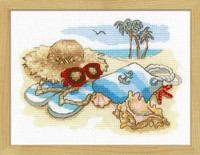 Seaside Holiday Cross Stitch Kit By Riolis
