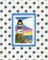Lighthouse Cross Stitch Kit By Design Works