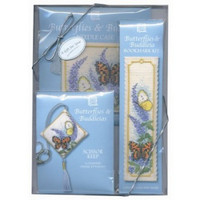 Butterflies & Buddleias Cross Stitch Gift Pack by Textile Heritage