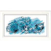 Sea Treasure Cross Stitch Kit by Oven