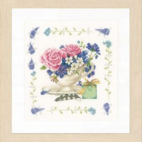 Bonquet Of Roses Cross Stitch Kit by lanarte