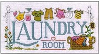 Laundry Room Cross Stitch Chart By Diane Arthurs