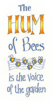 The Hum of Bees Cross Stitch Kit By Heritage