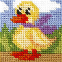 My First Embroidery Kit Duck By Orchidea