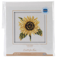 Sunflowers Cross Stitch Kit by RTO