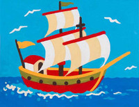 Pocket Galleon CANVAS By Grafitec