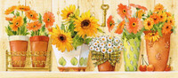 Sunflowers & Daisies CANVAS By Grafitec