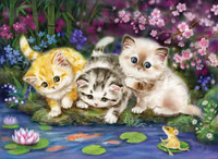 Kitten Trio CANVAS By Grafitec