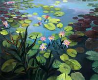 Lily Pond CANVAS By Grafitec