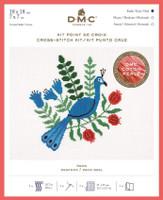 Peacock Cross Stitch Kit By DMC